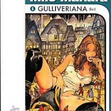 Cómics: COMIC NORMA COL.MILO MANARA Nº 6-GULLIVERIANA Nº 2 DE 2. Lote 27385997