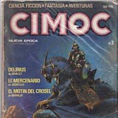 Cómics: CÓMIC CIMOC Nº 3 ( NUEVA ÉPOCA ) ED.NORMA.SEGRELLES,BERMELO,ETC.... Lote 27280315