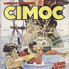 Cómics: CÓMIC CIMOC Nº 54 ( NUEVA ÉPOCA ) ED.NORMA.MANARA,FONT,GARCÉS,ETC...B.E.. Lote 27280318
