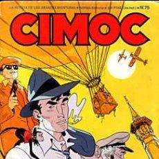 Cómics: CÓMIC CIMOC Nº 75 ( NUEVA ÉPOCA ) ED.NORMA.PELLEJERO,SEGURA/ORTIZ,ETC...BE.. Lote 27280320