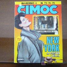 Cómics: CIMOC. RETAPADO INVIERNO 4. NUMEROS 73, 74, 75. Lote 20406428