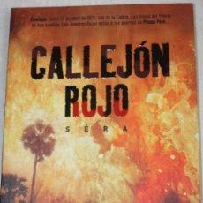 Cómics: CALLEJON ROJO (SERÁ) , 50% DE DESCUENTO. Lote 26694948