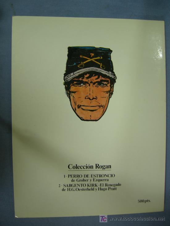 Cómics: SARGENTO KIRK EN EL RENEGADO COLECCION ROGAN Nº 2 - Foto 3 - 26600262