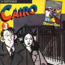 Cómics: CAIRO Nº 3 - EL NEOTEBEO - NORMA - 1981. Lote 20654539