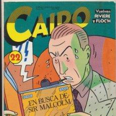 Cómics: CAIRO Nº 22.. Lote 20679675