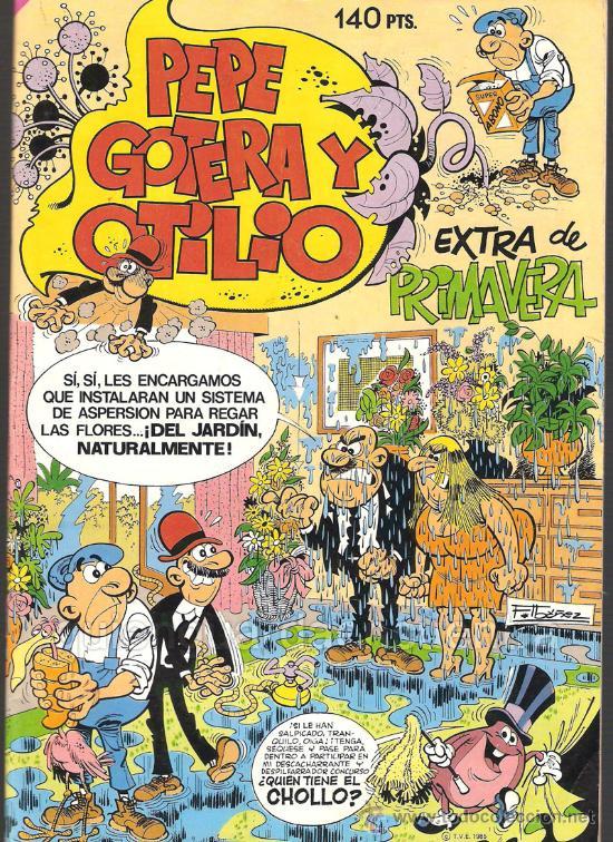 COMIC EXTRA DE PRIMAVERA PEPE GOTERA Y OTILIO Nº 83 1985. NUEVO. F.IBAÑEZ. (Tebeos y Comics - Norma - Otros)