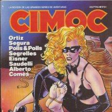 Cómics: CIMOC Nº 84. NORMA EDITORIAL.. Lote 235885475