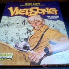Cómics: VIET-SONG. FRANK CAPPA, MEMORIAS DE UN CORRESPONSAL. MANFRED SOMMER. CIMOC EXTRA COLOR Nº 57. Lote 20842360