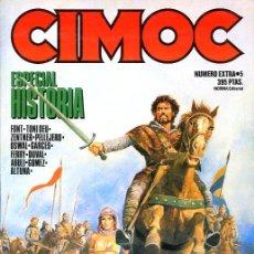 Cómics: CIMOC, ESPECIAL HISTORIA Nº 5 - ALTUNA, FERRY, FONT, PELLEJERO, ETC... - NORMA - 1985. Lote 20964538
