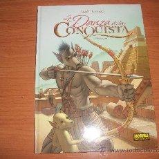 Cómics: LA DANZA DE LA CONQUISTA VOLUMEN 1 EL IMPERIO EDITORIAL NORMA TAPA DURA. Lote 23200246
