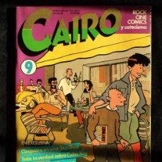 Cómics: CAIRO. Nº 9. Lote 21955519