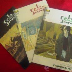 Cómics: LA CASA DE LOS SECRETOS - CIMIENTOS - COMPLETA 3 NUMEROS. Lote 27422451