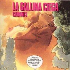 Cómics: LA GALLINA CIEGA. MAX CABANES. COLECCIÓN CIMOC EXTRA COLOR Nº 80-81. NORMA EDITORIAL.. Lote 27593143