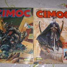 Cómics: LOTE DE 2 COMICS - CIMOC - Nº 81 Y Nº 104. Lote 27259381