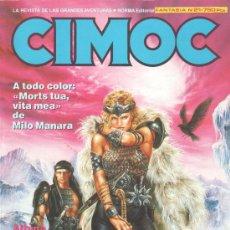 Cómics: RETAPADO CIMOC Nº 21. CONTIENE LOS NÚMEROS: 71, 72 Y 73. Lote 26302475