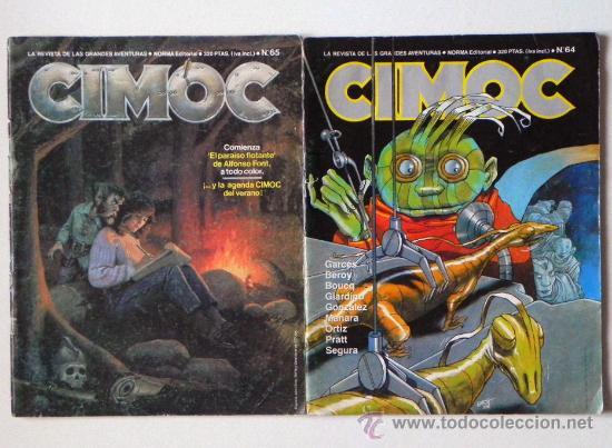 Cómics: LOTE 7 CÓMICS CIMOC CIENCIA FICCIÓN AVENTURA CÓMIC - ENTREVISTA A MILO MANARA + DE 580 PÁG. ADULTOS - Foto 4 - 26698680