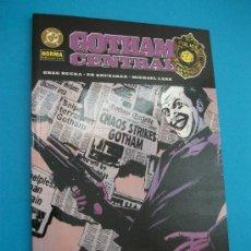 Cómics: GOTHAM CENTRAL NUMERO 3 BLANCOS FACILES ED BRUBAKER - MICHAEL LARK - GREG RUCKA. Lote 22532435