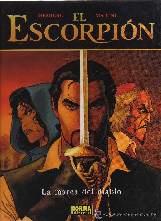 EL ESCORPIÓN 1 LA MARCA DEL DIABLO NORMA EDITORIAL EXTRA COLOR 181 TAPA BLANA (Tebeos y Comics - Norma - Otros)