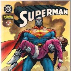 Cómics: SUPERMAN Nº 10. Lote 27210435