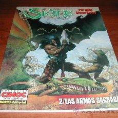 Cómics: SLAINE 2 LAS ARMAS SAGRADAS (SIMON BISLEY) CIMOC EXTRA COLOR.. Lote 23686163