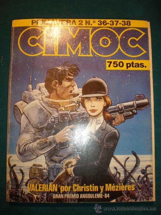 CIMOC - PRIMAVERA 2- Nº 36-37-38 - COLOR Y B/N - TAPA BLANDA 26X21 CM. - RETAPADO (Tebeos y Comics - Norma - Cimoc)