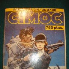 Cómics: CIMOC - PRIMAVERA 2- Nº 36-37-38 - COLOR Y B/N - TAPA BLANDA 26X21 CM. - RETAPADO. Lote 23729252