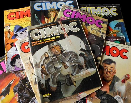 Cómics: GRAN LOTE 14 COMICS CIMOC - CÓMIC PARA ADULTOS REVISTA AVENTURA ERÓTICO CIENCIA FICCIÓN MANARA PRATT - Foto 2 - 25852762
