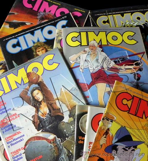 Cómics: GRAN LOTE 14 COMICS CIMOC - CÓMIC PARA ADULTOS REVISTA AVENTURA ERÓTICO CIENCIA FICCIÓN MANARA PRATT - Foto 4 - 25852762