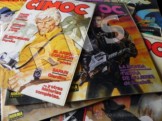 Cómics: GRAN LOTE 14 COMICS CIMOC - CÓMIC PARA ADULTOS REVISTA AVENTURA ERÓTICO CIENCIA FICCIÓN MANARA PRATT - Foto 7 - 25852762