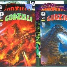 Cómics: GODZILLA # 1 AL 5 + ESPECIAL COLOR (DARK HORSE / NORMA). Lote 152466474