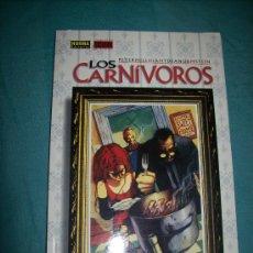 Cómics: LOS CARNIVOROS - PETER MILLIGAN - NORMA EDITORIAL - NUEVO. Lote 24868457