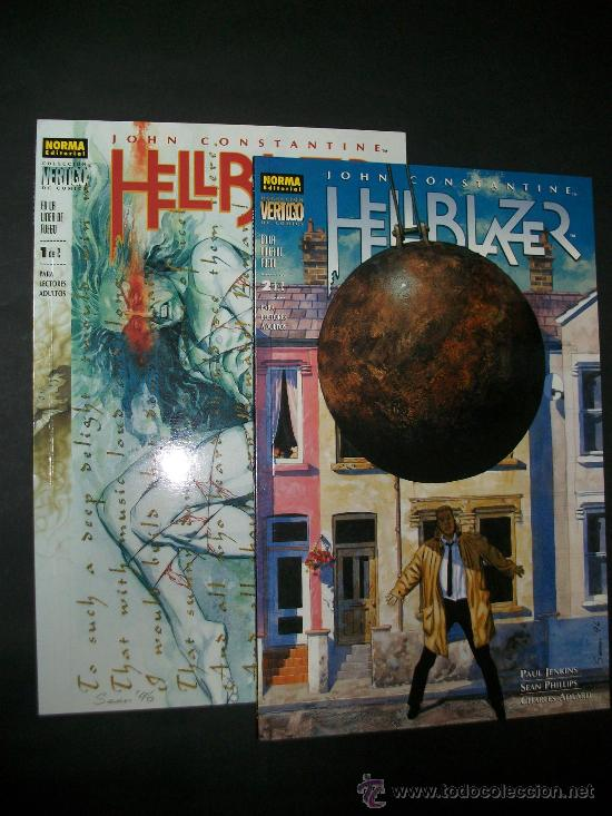 HELLBLAZER EN LA LINEA DE FUEGO NUMERO 1 Y 2 COMPLETA (Tebeos y Comics - Norma - Comic USA)
