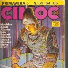 Cómics: CIMOC RETAPADO 5 PRIMAVERA. Lote 26579838