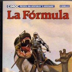 Cómics: LA FÓRMULA - VICENTE SEGRELLES - EL MERCENARIO Nº 2 - NORMA EDITORIAL. Lote 26917513