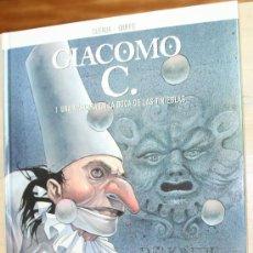 Cómics: GIACOMO C.( DUFAUX & GRIFFO) Nº1: LA MASCARA EN LA BOCA DE LAS TINIEBLAS.. Lote 27209942