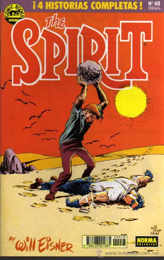 THE SPIRIT - Nº 48 - COMIC BOOKS NORMA (Tebeos y Comics - Norma - Comic USA)