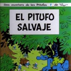 Cómics: LOS PITUFOS Nº 19 - EL PITUFO SALVAJE - PEYO - NORMA EDITORIAL. Lote 27273286