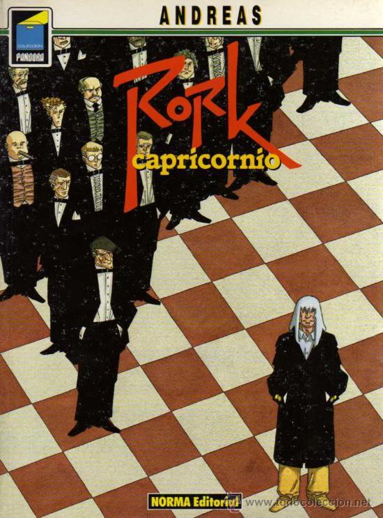 RORK, CAPRICORNIO - ANDREAS - COL. PANDORA Nº 28 - NORMA (Tebeos y Comics - Norma - Comic Europeo)