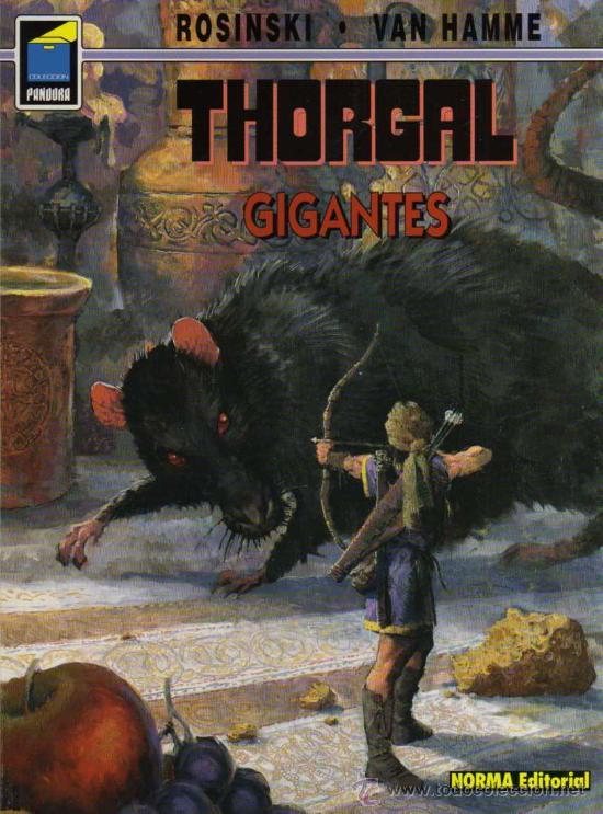 THORGAL - GIGANTES - ROSINSKI/VAN HAMME - COL. PANDORA Nº 62 - NORMA (Tebeos y Comics - Norma - Comic Europeo)