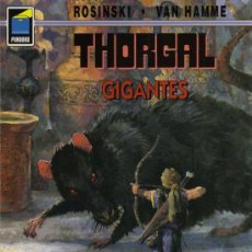 Cómics: THORGAL - GIGANTES - ROSINSKI/VAN HAMME - COL. PANDORA Nº 62 - NORMA. Lote 27673765