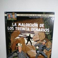 Cómics: BLAKE Y MORTIMER 20 - LA MALDICION DE LOS 30 DENARIOS - SEGUNDA PARTE. Lote 27708356