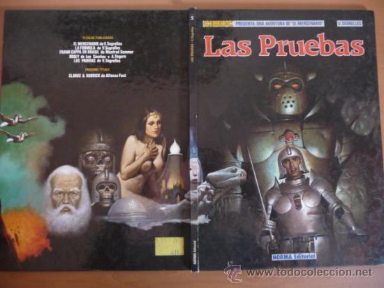 Cómics: EL MERCENARIO. LAS PRUEBAS. V. SEGRELLES. NORMA EDITORIAL - Foto 2 - 30957189