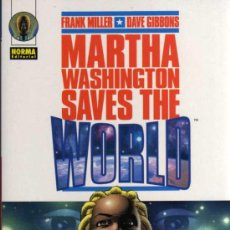 Cómics: MARTHA WASHINGTON SAVES THE WORLD - MILLER / GIBBONS - NORMA EDITORIAL. Lote 27771668