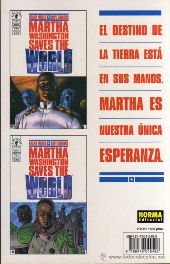 Cómics: MARTHA WASHINGTON SAVES THE WORLD - MILLER / GIBBONS - NORMA EDITORIAL - Foto 2 - 27771668