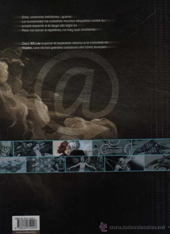 Cómics: CIELO XX.COM, MEMORIAS 98 - YSLAIRE - NORMA EDITORIAL - Foto 2 - 27771858