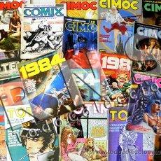 Cómics: GRAN LOTE DE COMICS CIMOC TOTEM COMIX INTERNACIONAL 1984 AVENTURA CIENCIA FICCIÓN ERÓTICO CÓMIC JOYA. Lote 27838084