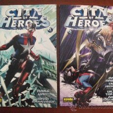 Cómics: CITY OF HEROES VOL 1 Y 2 TAPA RUSTICA NORMA EDITORIAL. Lote 27838491