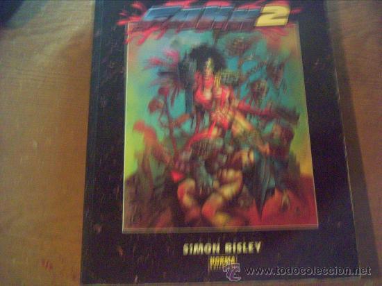 FAKK2 . EL ARTE DE SIMON BISLEY (Tebeos y Comics - Norma - Comic USA)