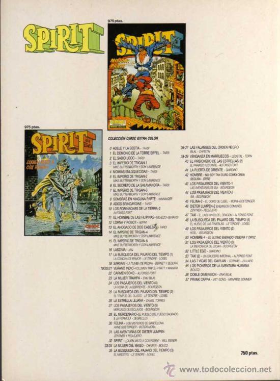 Cómics: SPIRIT - ¡BIENVENIDO A CASA, EBONY! - WILL EISNER - CIMOC EXTRA COLOR Nº 58 - NORMA EDITORIAL - Foto 2 - 27850875