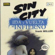 Cómics: SIN CITY - IDA Y VUELTA AL INFIERNO 2 DE 3 - FRANK MILLER - NORMA EDITORIAL. Lote 93977670